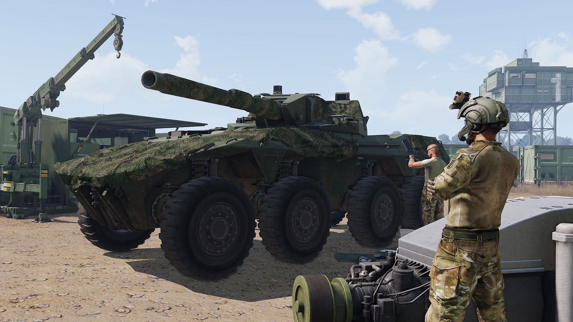 Arma 3 Tanks DLC rolls out on April 11   Blog   Bohemia Interactive