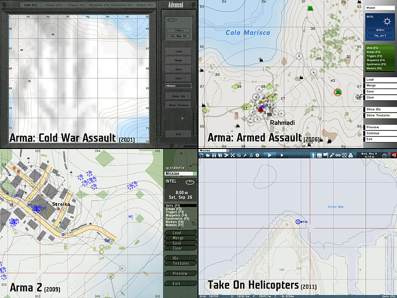 Take on editing blog bohemia interactive editor tutorial a comparison of the editors over the years gumiabroncs Choice Image