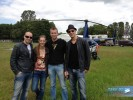 Defqon.1 2012 - Left to right: NC Arjan, winner Daisy, Project Lead Joris and NC Bas